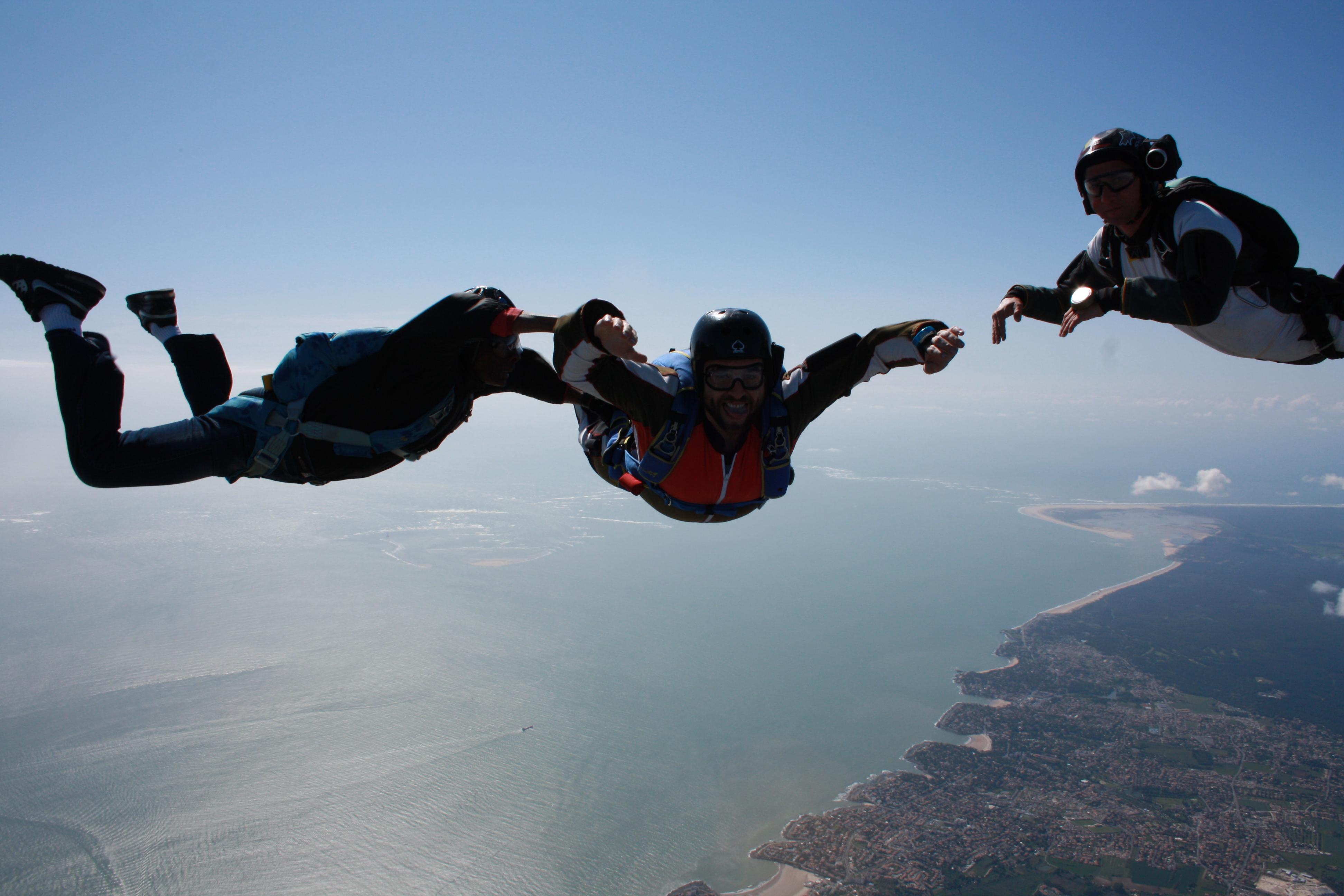 parachutisme poitiers