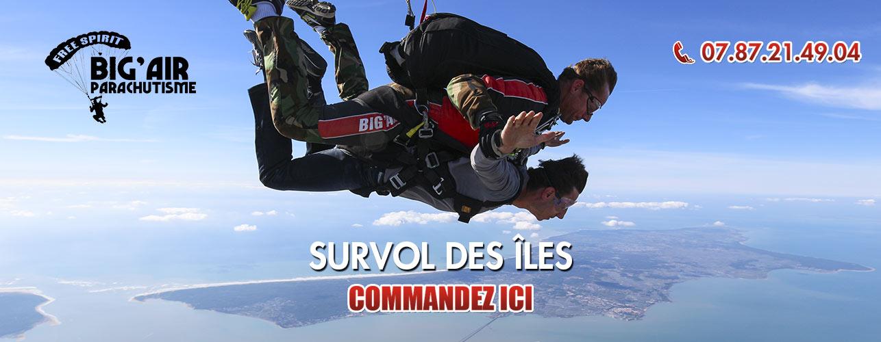 cadeau saut en parachute
