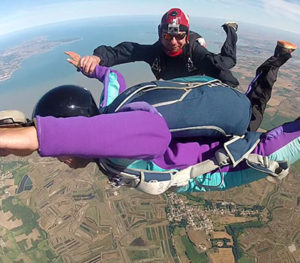 Initiation parachutisme Marenne