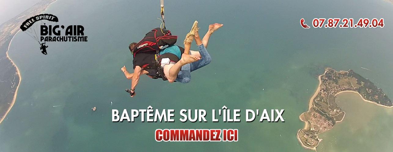 saut en parachute ile d'oleron